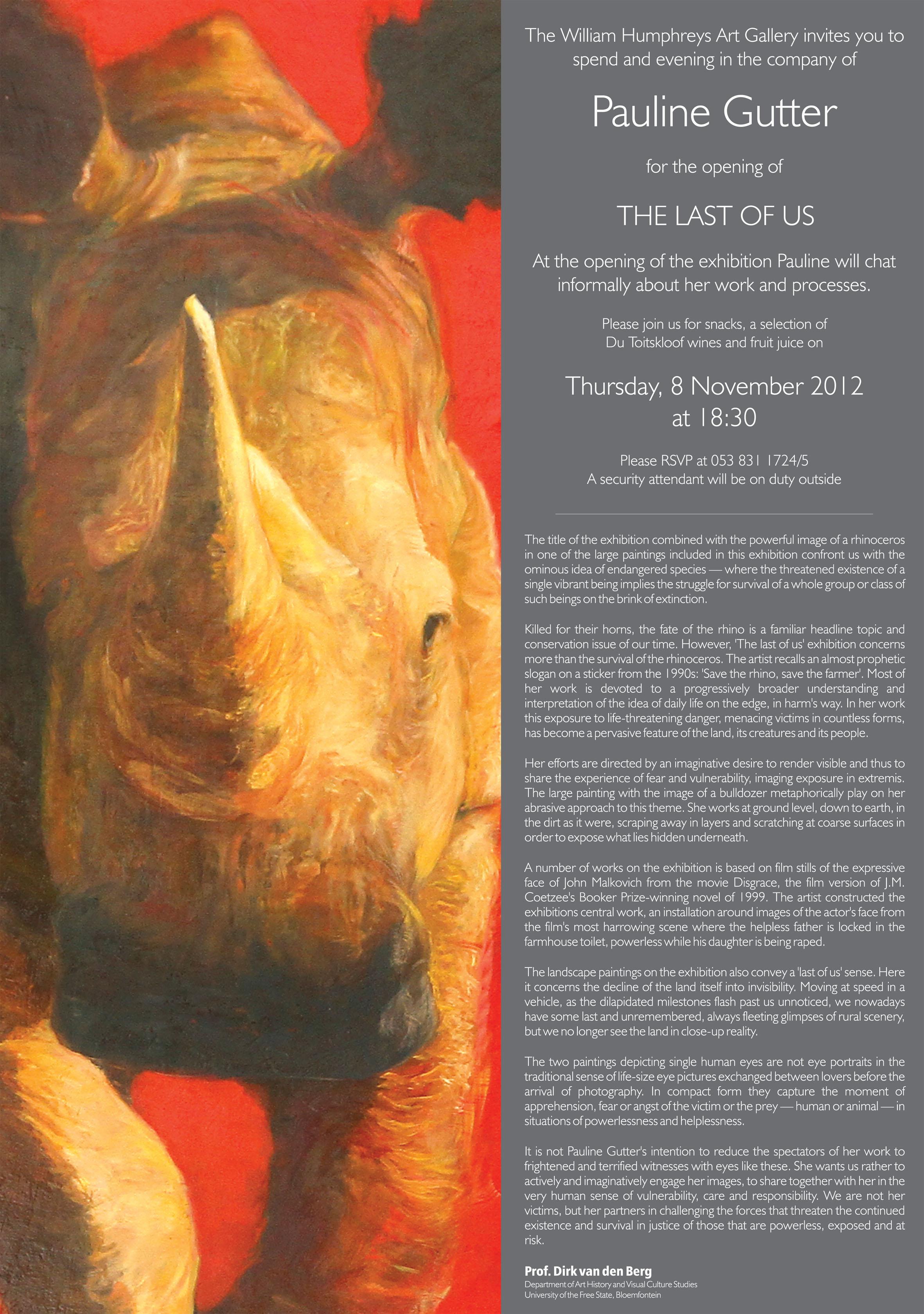 The last of Us Solo - Pauline Gutter